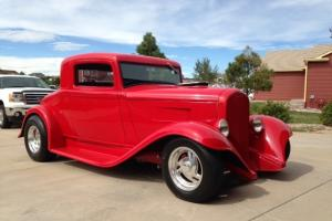 1932 Plymouth 3 Window Coupe, hotrod street rod, 32 hot rod Super charged 360 !!