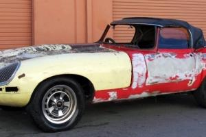 "1962 E-TYPE 3.8 LITER S1 ROADSTER ""DESERT FIND"" SOLID BODY NEEDS FULL RESTO XKE"