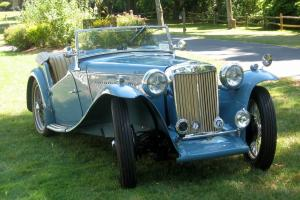 MG TC - Restored Early Car Photo