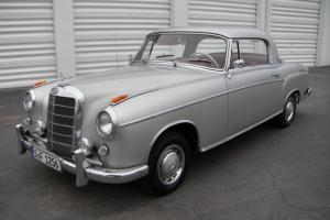 1958 Mercedes Benz COUPE Ponton 220s DB180 with Red Leather W180 Only 1,251 made