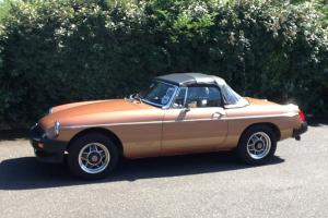 MGB Roadster 1800 Limited Edition (420) 1981  Photo