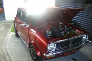 Leyland Mini S Coupe 998cc Twin CARBS4 Speed Candy Apple Paint TAS Rego in Greater Hobart, TAS
