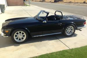 Fully restored Supercharged 1971 TR6 Photo