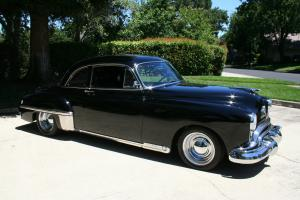 1949 Oldsmobile Deluxe 88 Club Coupe - Gorgeous Black on Black