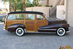 1948 Oldsmobile Deluxe Woody Straight 8 Station Wagon 80k Actual Miles Original