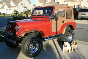 1977 JEEP CJ5 EXCEPTIONAL CONDITION CJ 5 V8 304 4SPD 4X4 AWESOME!!!!!!!!!!!!!!!!