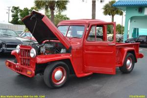Classic 1958 Willys Jeep Based on T2  HOT ROD 305 GM Engine Automatic
