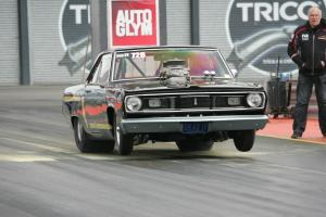 PLYMOUTH SCAMP drag car race car road registered