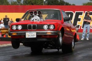 1984 BMW drag car 509 inch Big Block Chevy 10-71 Blown and injected on alcohol