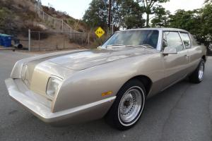 87 Avanti II Studebaker GM G Body V8 Kelley Built Monte Carlo SS 2 Door Coupe