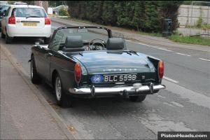 1964 SUNBEAM ALPINE Convertible GREEN