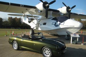 1996 MG RV8 Woodcote Green with