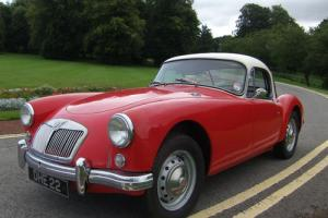 1958 MGA Fixed Head Coupe 1500cc  Photo