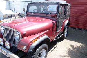 Rare 1973 right hand drive CJ5 Jeep