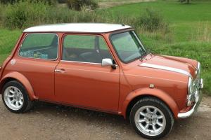 CLASSIC MINI COOPER VOLCANO ORANGE, STUNNING CONDITION