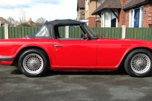 TRIUMPH TR6 RED NO RESERVE