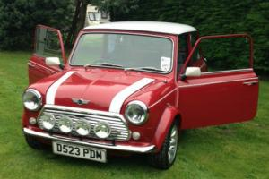 austin mini mayfair- rover cooper sports look-a-like. 1986. taxed and motd.