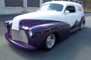 AMAZING CHOPPED SUPERCHARGED ALL STEEL CUSTOM DELIVERY