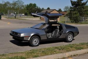 1981 DeLorean DMC-12 back to the future Low miles!