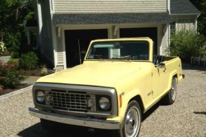 1972 Jeep Commando Jeepster