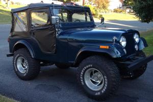 Magnificent 1972 Jeep Cj5 Base Sport Utility 2 Door 5 0L Wiring Cloud Peadfoxcilixyz