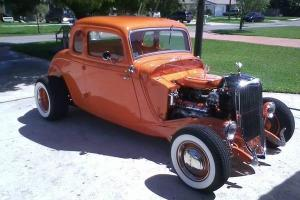 33 5 Window Coupe Highboy All Steel 4K miles Crate Motor