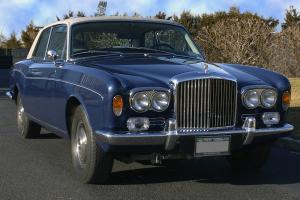 1973 Bentley Corniche  6.8L Coupe FHC Body by M. P. W. One Owner Southampton LI Photo
