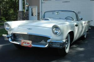 1957 FORD Thunderbird Hard Top Convertible Classic Antiques Muscle Cruiser Rod