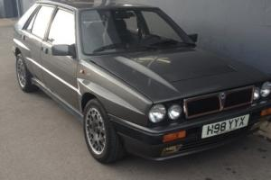 1991 LANCIA DELTA HF INTEGRALE 4WD 16V NEW MOT NEW PARTS INC CAMBELT