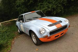 MGB GT S SEBRING IN GULF RACING COLOURS STUNNING CAR MOT 2014 SUPERB EXAMPLE