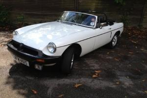 1977 MG B WHITE  Photo