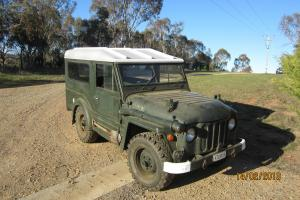 1954 Austin Champ FV Model FV1801 EX AUS Army Original 4WD Military Antique in South Eastern, NSW