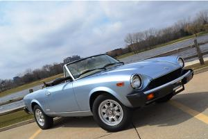 1983 Fiat Pininfarina Spider from Roadster Salon November Delivery