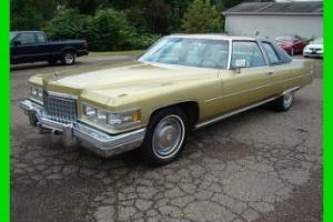 76 Cadillac Coupe Deville