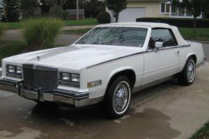 Eldorado Biaritz Convertible fully optioned California car