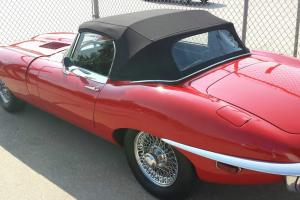 RED 1970 JAGUAR XKG CONVERTIBLE NUMBERS MATCHING ALL ORIGINAL DRIVETRAIN.
