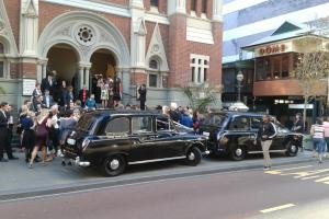 Black London Cabs X 8