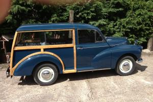 morris minor traveller 2 owner with full car spares repairs ,optional