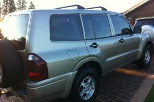 Mitsubishi Pajero GLX LWB 4x4 2004 4D Wagon 5 SP Manual 3 8L Multi