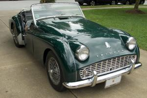 1958 Triumph TR3A great condition, runs and drives beautifully