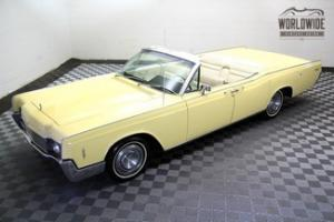 1966 LINCOLN CONTINENTAL CONVERTIBLE! FULLY RESTORED AND STUNNING!! MUST SEE!