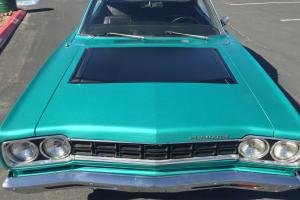 1968 Plymouth Roadrunner hardtop 383 surf turquoise no reserve not GTX Charger