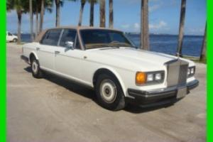 1989 Rolls Royce Silver Spur 15K MILES UNMOLESTED ORIGINAL NOT RESTORED STUNNING Photo