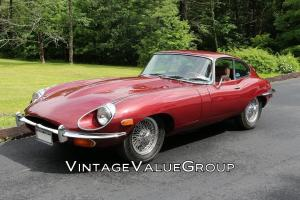 1969 JAGUAR XKE 2-DOOR COUPE