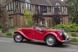 1952 MG TD Roadster Rebuilt engine and 5 speed T9 Gearbox