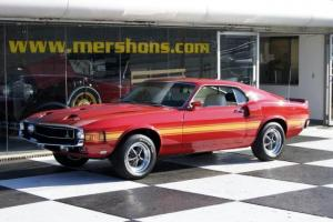 1969 Shelby GT 500 Rotisserie Restored 4 Speed