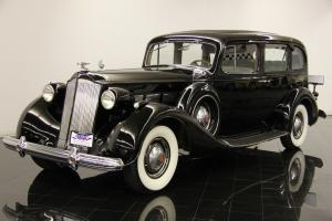 1937 Packard Super Eight 7-Passenger 1502 Touring Sedan 320ci 8 Cylinders 3 Spd Photo
