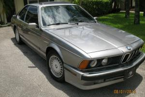 1989 BMW 635CSi Coupe 2-Door 3.5L