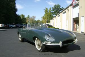 1966 Jaguar E-type 4.2 Liter Matching Number Roadster