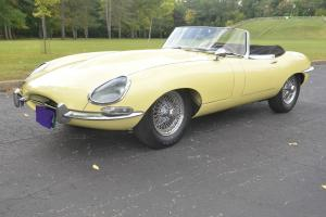 1964 Jaguar Series 1 XKE Convertible 3.8 litre Moss 4 speed Chrome wire wheels Photo
